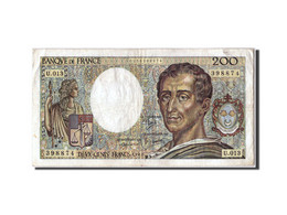 [#306151] 200 Francs Montesquieu Type 1981, 1982, Fayette 70.2 - 1962-1997 ''Francs''