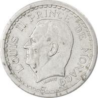 Monaco, Louis II, 2 Francs ND (1943), KM 121 - Monaco