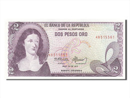 [#255958] Colombie, 2 Pesos Oro, Type P. Salavarietta - Colombie
