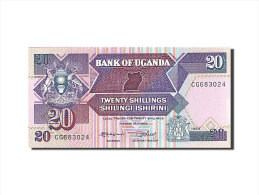 [#258296] Ouganda, 20 Shillings, Type 1987 - Uganda