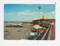 FIUMICINO,Aeroporto Leonardo Da Vinci-1969-Aerei In Pista-!!!!!!!!! - Roma