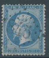 Lot N°28433    Variété/n°22, Oblit GC 1845 ISSOIRE (62), Ind 3, Trait Blanc E De EMPIRE - 1862 Napoléon III