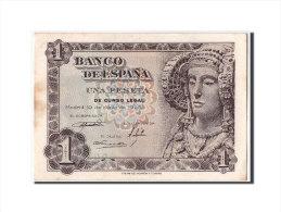[#304249] Espagne, 1 Peseta Type Dame D'Elche - 1-2 Pesetas