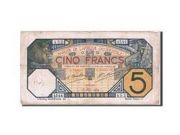 [#257716] Afrique Occidentale, 5 Francs, Type Lion - Banconote