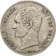 [#42303] Belgique, Léopold I, 2 1/2 Francs Petite Tête 1848, KM 11 - 10. 2 1/2 Francs