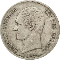 [#42303] Belgique, Léopold I, 2 1/2 Francs Petite Tête 1848, KM 11 - 1831-1865: Léopold I