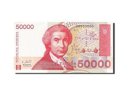Croatie, 50 000 Dinara, Type Ruder Boskovic - Croatie