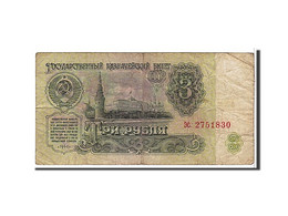 Russie, 3 Roubles Type 1961 - Russie