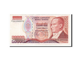 Turquie, 20 000 Lira Type Atatürk - Turquia