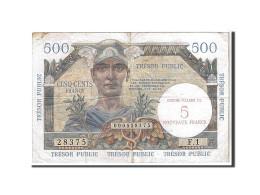 [#108653] 5 NF/ 500 Francs Type Trésor Public, 1960, V Fayette 37.1 - Treasury
