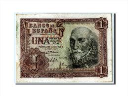 [#304376] Espagne, 1 Peseta Type Santa Cruz - [ 3] 1936-1975 : Régence De Franco