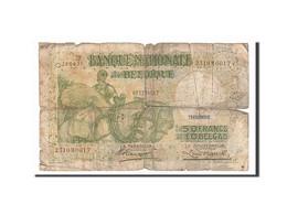 [#156450] Belgique, 50 Francs / 10 Belgas Type Anto Carte - [ 6] Staatskas