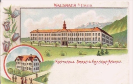 WALDHAUS B/CHUR  KANTONALE IRREN DE KRANKEN ANSTALT - GR Grisons