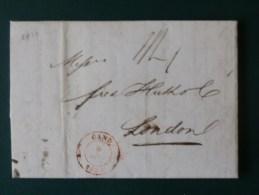 51/157  LETTRE AVEC CONTENU DE GAND POUR LONDRES   1839 - 1830-1849 (Belgique Indépendante)