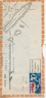Nouvelle Caledonie. Enveloppe.  29f Journée Du Timbre 1969. YT 102 - Luftpost