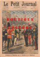 492 < PETIT JOURNAL Du 22-04-1900 < EXPOSITION PARIS 1900 + ATTENTAT PRINCE De GALLES + PAVILLON BULGARIE < 5 SCANS - Journaux - Quotidiens