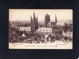 """53316    Belgio,   Les  Halles D""""Ypres En  1913,  NV(scritta) - Ieper"""