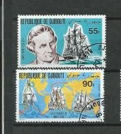 DJIBOUTI 1980 Y.T. 525-526  0/USED - Djibouti (1977-...)