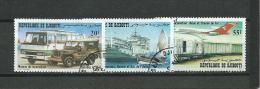 DJIBOUTI 1982 Y.T.554-556 0/USED - Djibouti (1977-...)
