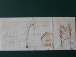 51/170  LETTRE PARTIEL DE NAMUR POUR MALINES  1849 - 1830-1849 (Belgique Indépendante)