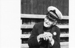 Postcard Skipper Thomas Harris Aged 91 Salvation Army Brixham 1957 - John Gay - Fishing