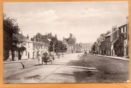Farnham Castle Street 1905 Postcard - Surrey