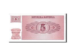 Slovénie, 5 Tolarjev Type 1990 - Slovénie
