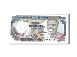 Zambie, 10 Kwacha Type 1989-91 - Zambia