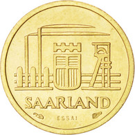 Sarre, 10 Franken 1954 Essai, KM E1 - Saar
