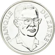 Monnaie, Zaïre, 2-1/2 Zaires, 1975, SPL, Argent, KM:9 - Zaire (1971-97)