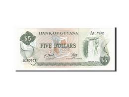 Guyane, 5 Dollars Type 1966 - Guyana
