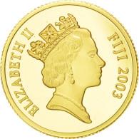 [#89990] Fidji, Elisabeth II, 10 Dollars Or Trésor De Richard II 2003, KM 113 - Figi