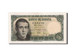 [#304272] Espagne, 5 Pesetas Type Balmes - [ 3] 1936-1975 : Régence De Franco
