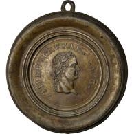 Repoussé En Bronze, Tibère, Médaille - France