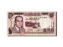 [#305090] Maroc, 10 Dirhams Type Hassan II - Marocco