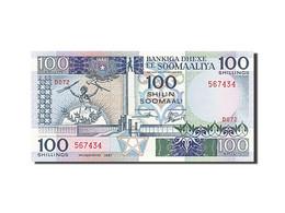 [#255799] Somalie, 100 Shillings, Type Loi Du 30 Décembre 1982 - Somalia