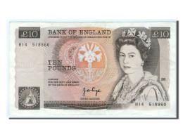 Grande-Bretagne, 10 Pounds Type 1971-82, Pick 379a - 1952-… : Elizabeth II
