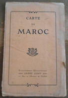 Carte Du Maroc - Geographical Maps