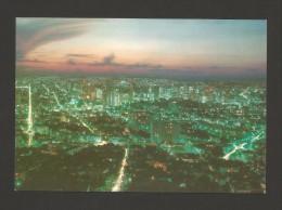 CARTE POSTALE POSTAL POSTCARD BRAZIL BRASIL BRÉSIL MINAS GERAIS BELO HORIZONTE VIEW BY NIGHT VUE À LA NUIT - Belo Horizonte
