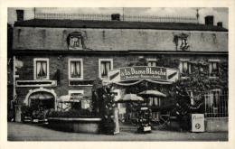 """BELGIQUE - LIEGE - COMBLAIN-AU-PONT - Vallée De L'Ourthe - Restaurent-Pension De Famille """" A La Dame Blanche"""". - Comblain-au-Pont"""
