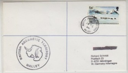 British Antarctic Territory 1986 Halley Cover Ca Halley 24 De 86 (21431) - Brits Antarctisch Territorium  (BAT)