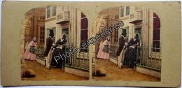 Stereoscopic Photo Stéréo XIX Romantic 1870 ANGLETERRE UK ENGLAND - Photos Stéréoscopiques