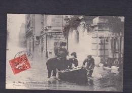 Paris - Inondations De 1910 - Quai D' Orsay - Nouveau Moyen De Locomation Pour Rentrer Chez Soi ( E. Malcuit ) - Alluvioni Del 1910