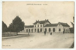 Joinville (52.Haute-Marne) La Gare Vers 1925 - Joinville