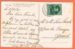 Antwerpen Wereldtentoonstelling 1930 Gelegenheidsstempel Op Kaart - Postmark Collection