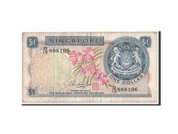 Singapour, 1 Dollar Type 1967-73 ND, Pick 1d - Singapore