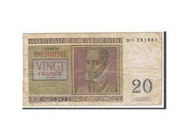 Belgique, 20 Francs Type R. De Lassus - [ 2] 1831-... : Royaume De Belgique