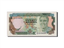 [#305677] Zambie, 20 Kwacha Type Kaunda - Zambie