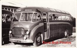 Bus Photo Carterton Coaches Bedford SB Duple Coach WMV407 - Automobiles