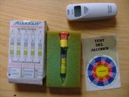 TEST DE ALCOHOL + ALCOHOL SENSOR - ALCOHOL TEST + ALCOHOL SENSOR - Sin Clasificación